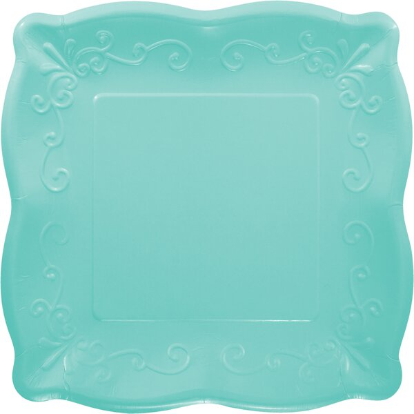 Embossed Paper Dinner Plate (Set of 8) by Creative Converting