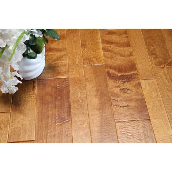 Napa 7 Solid Maple Hardwood Flooring in Maple by Alston Inc.