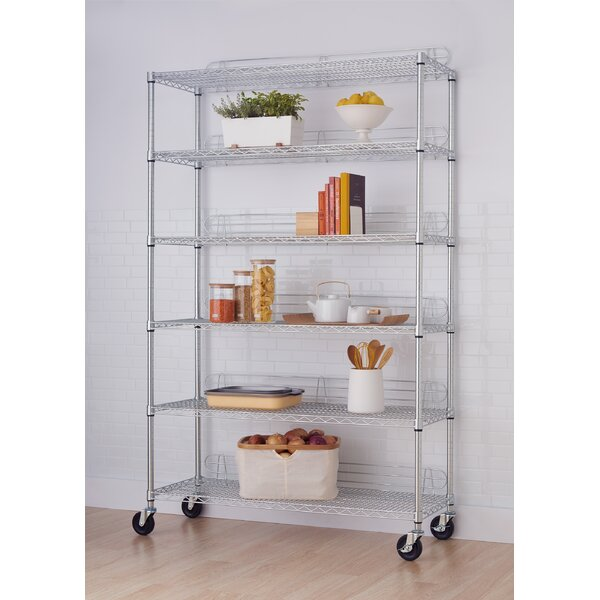 NSF 77 H x 48 W Shelving Unit by Trinity