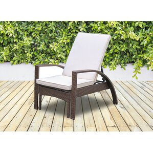 Outdoor lounge chairs you 39 ll love wayfair for Big and tall chaise lounge