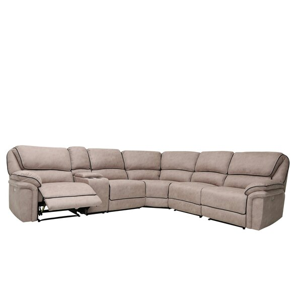 Kalista Reclining Sectional By Latitude Run Best Choices