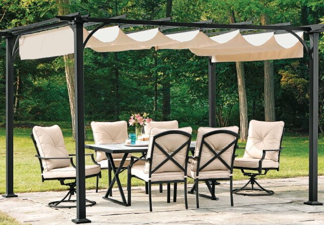 Replacement Canopy for Summer House Pergola - Replacement Pergola Covers Wayfair