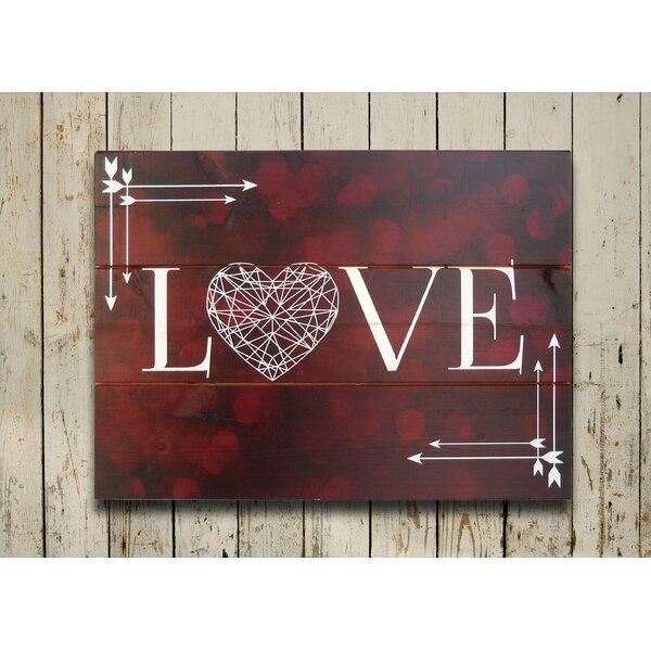 Bokah Love Wall Art by Hadley House Co