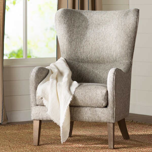 Granville Swoop Wingback Chair by Laurel Foundry Modern Farmhouse