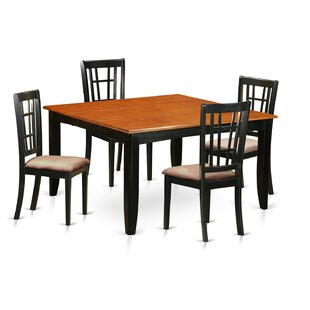 Pilning 5 Piece Extendable Dining Set By August Grove