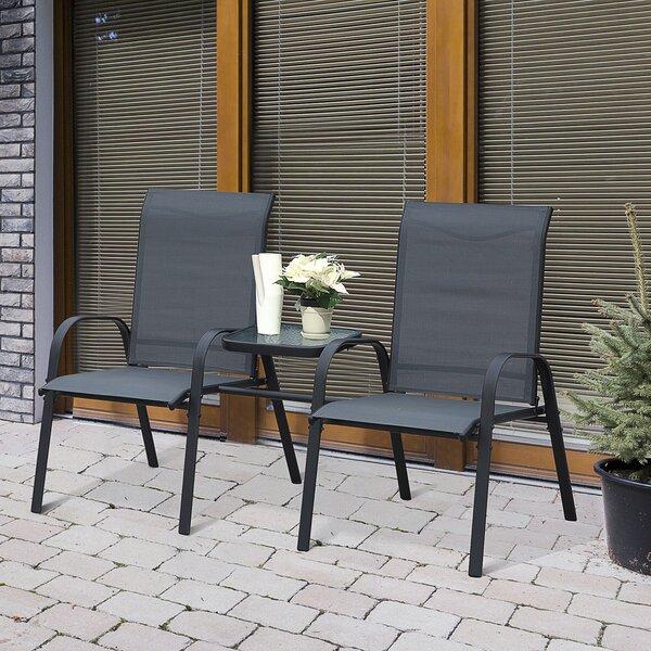 Aedan-Joseph Outdoor Garden 3 Piece Seating Group by Latitude Run