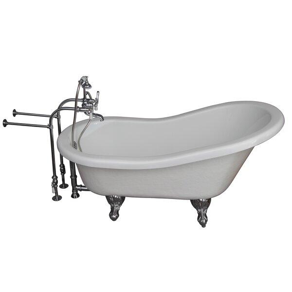 67 x 29.5 Soaking Bathtub Kit by Barclay
