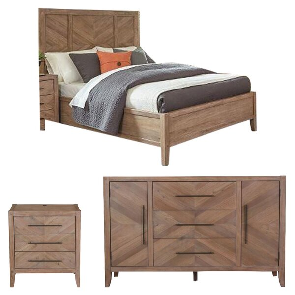 Hillam Panel Configurable Bedroom Set by Gracie Oaks