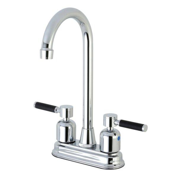 Kaiser Centerset High-Arch Spout Bar Faucet by Kingston Brass