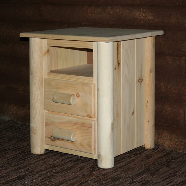 Timothy 2 Drawer Nightstand by Millwood Pines