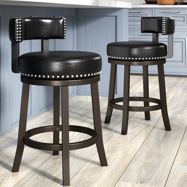 Backer 24 Bar Stool (Set of 2) by Darby Home Co