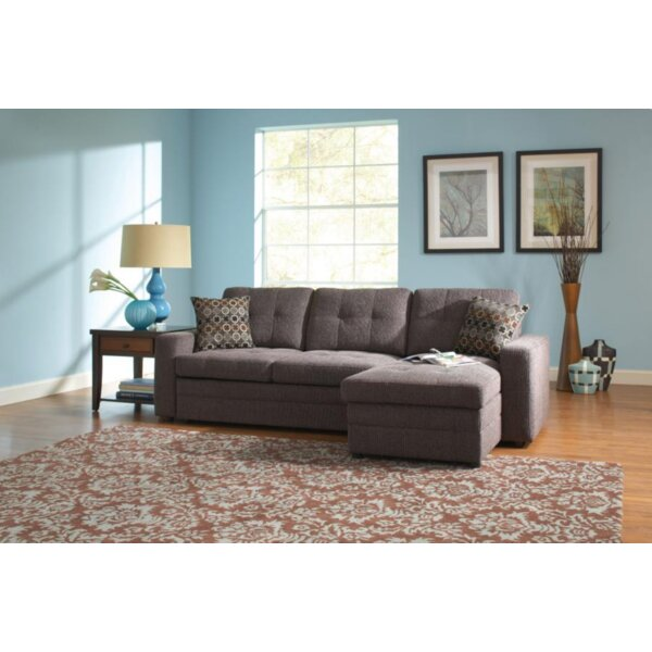 Brodersen Right Hand Facing Sleeper Sectional by Latitude Run