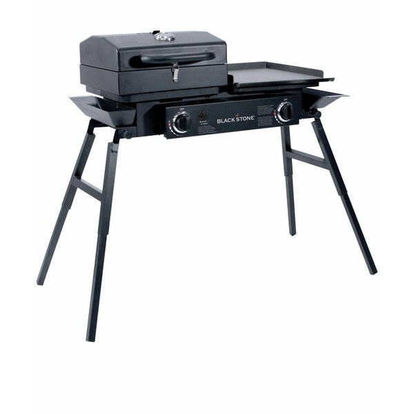 Tailgater 2-Burner Propane Gas Griddle Grill with Stove by Blackstone
