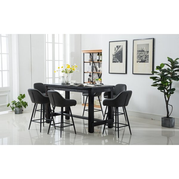 Shoemaker 7 Piece Counter Height Dining Set by Union Rustic