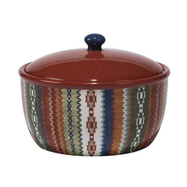 Brimson Round Bean Pot by World Menagerie