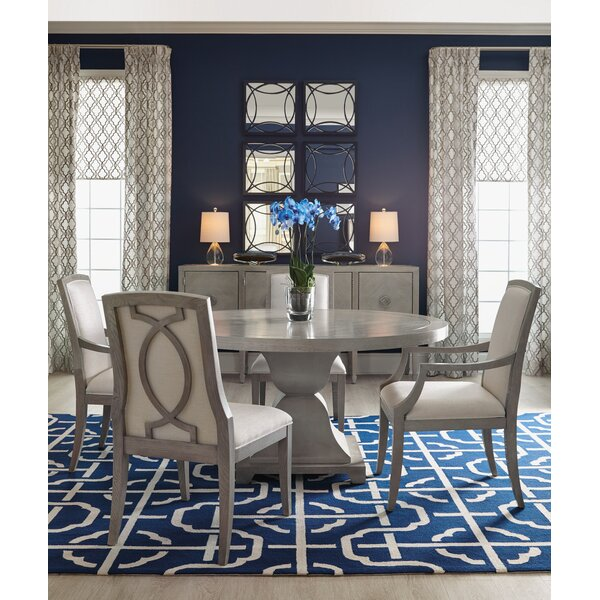 Criteria Round 5 Piece Dining Set by Bernhardt