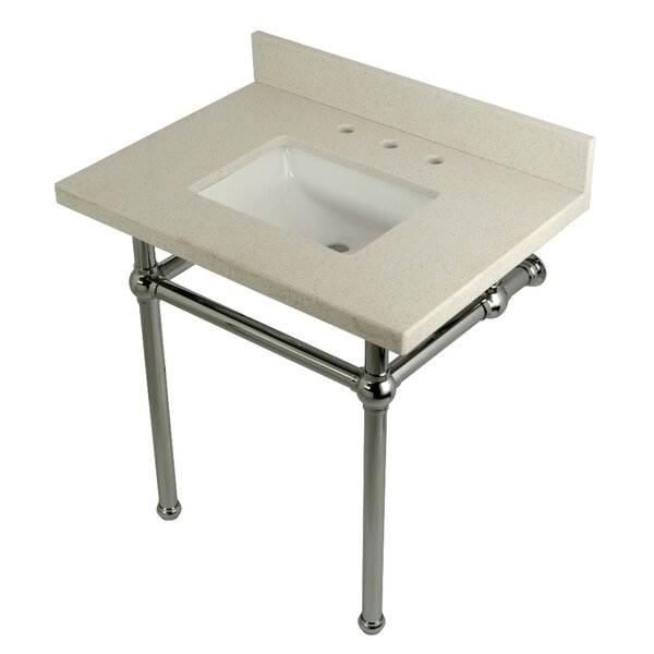 Quartz 30 Single Bathroom Vanity Set by Kingston Brass
