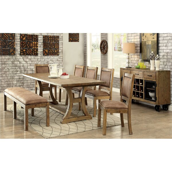 Coshocton Solid Wood Dining Table by Gracie Oaks Gracie Oaks