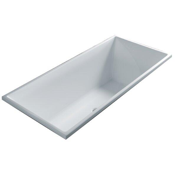 Ucore 68 x 32 Drop-In Soaking Bathtub by UCore