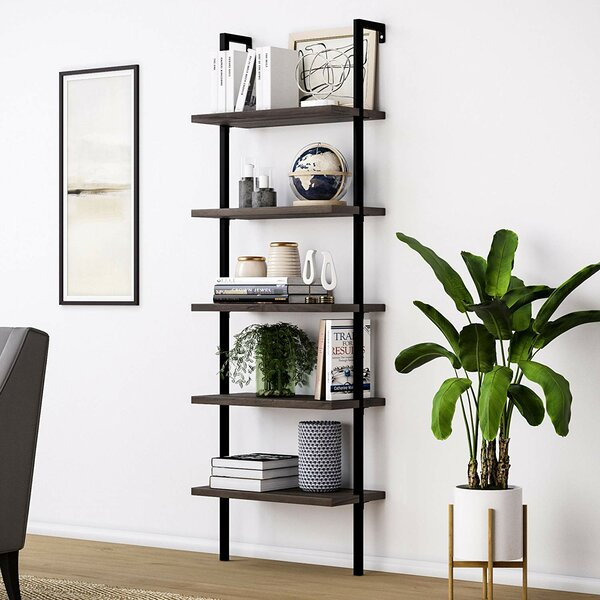 Wellington Heo Wood Ladder Bookcase By 17 Stories