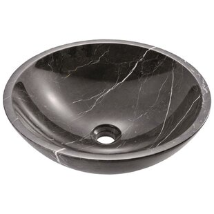 Inexpensive Stone Circular Vessel Bathroom Sink By MR Direct