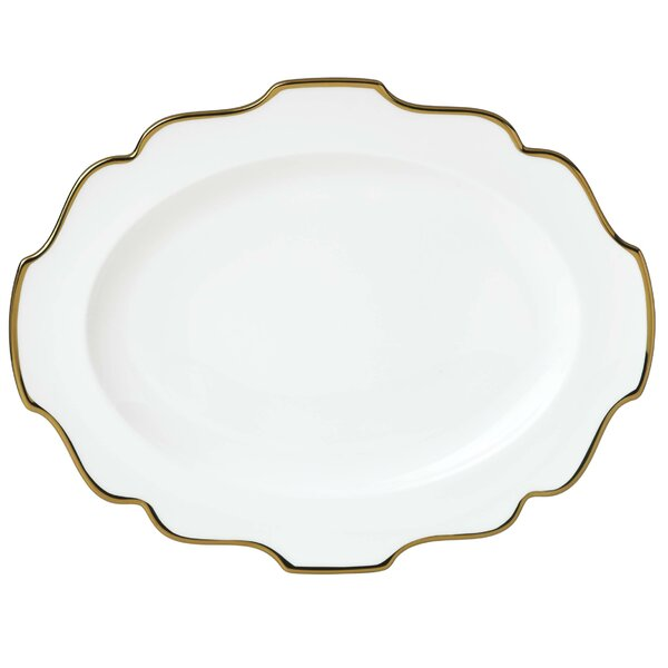 Contempo Luxe 16 Oval Platter by Lenox