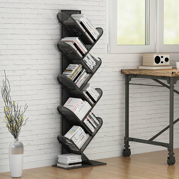 Mariana Tree Geometric Bookcase by Wrought Studio