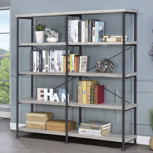 Mccaleb Industrial Oversized Set Bookcase by Williston Forge| @ $329.99