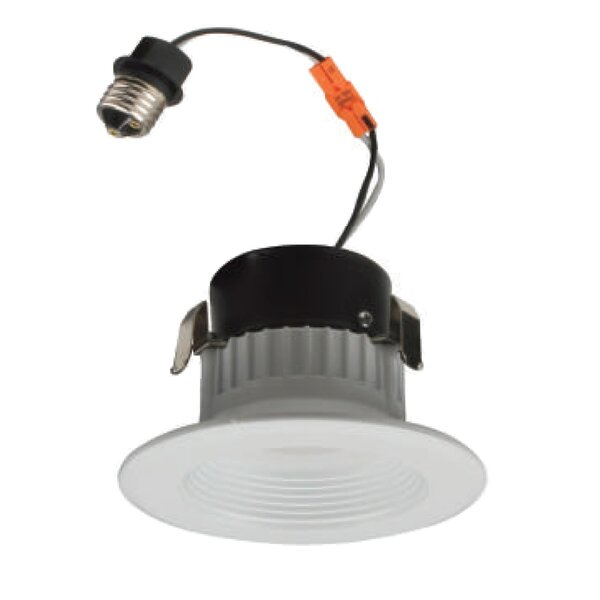 D-series Baffle 3 LED Recessed Retrofit Downlight by NICOR Lighting