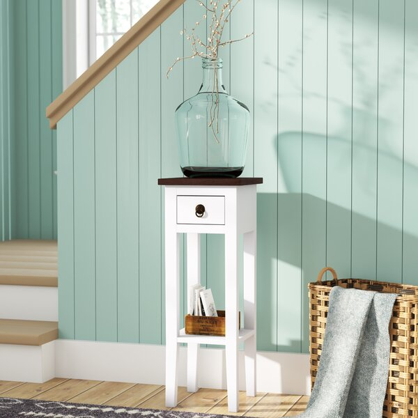Moralez Solid Wood End Table With Storage By August Grove