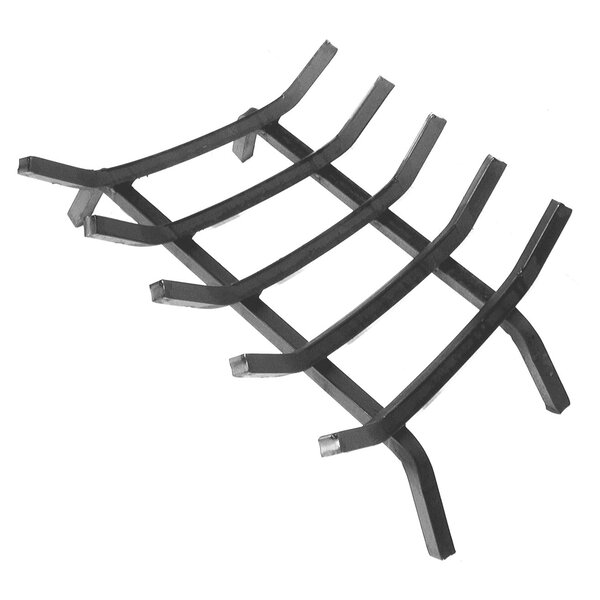 Heavy Duty Grade Steel Fireplace Grate by Landmann