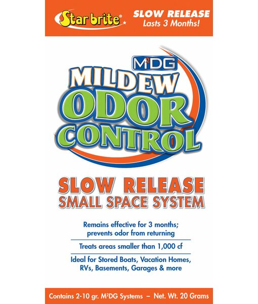 M2DG Small Area Slow Release Mildew Odor Control by Star Brite