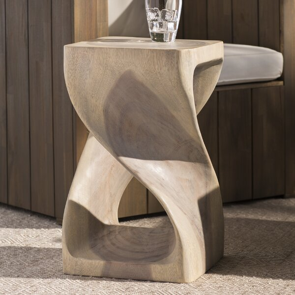 Chandler Twist Stool 20 Agate Grey by Trent Austin Design