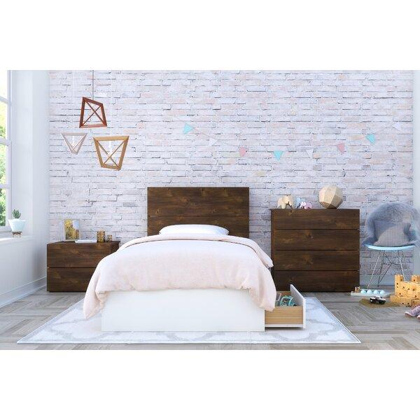 Pelkey Twin Platform 3 Piece Bedroom Set by Harriet Bee