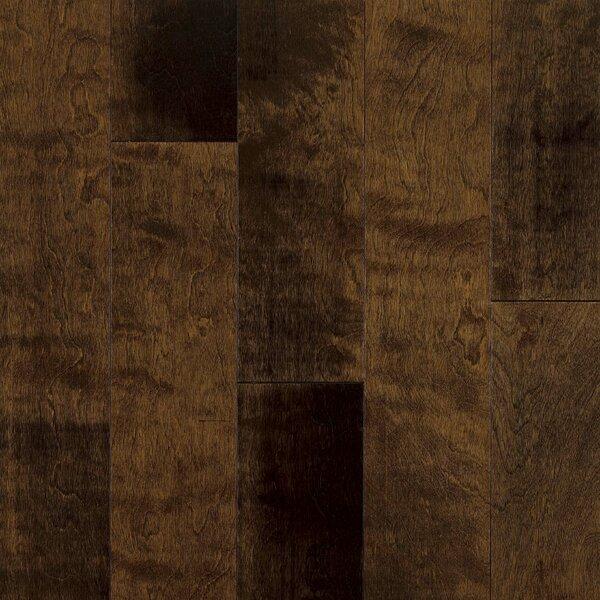 5 Engineered Yellow Birch Hardwood Flooring in Chocolate Malt by Armstrong Flooring
