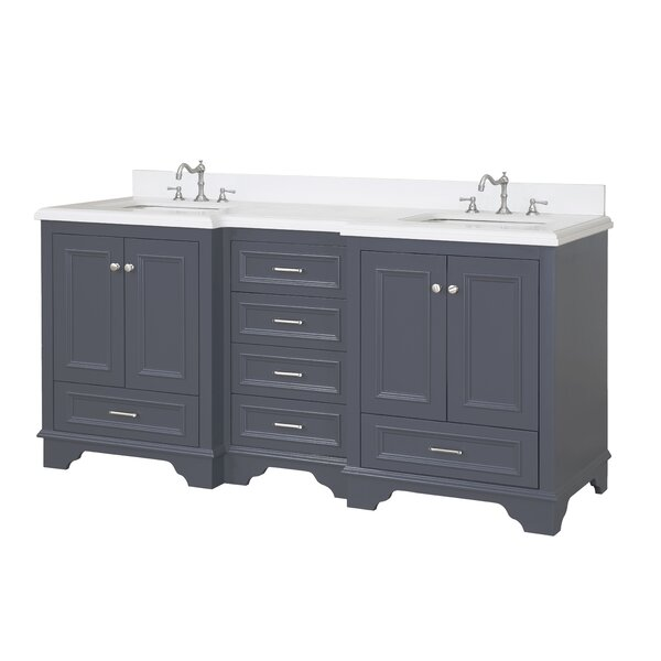 Nantucket 72 Double Bathroom Vanity Set by Kitchen Bath Collection