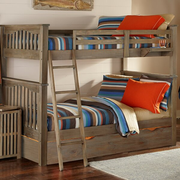 Timberville Bunk Bed with Trundle by Greyleigh