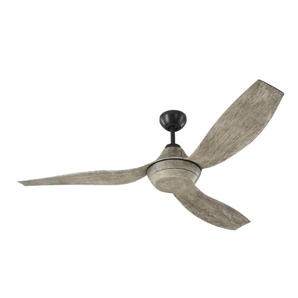 Bank 56 Avvo Max 3 Blade LED Ceiling Fan with Remote by Gracie Oaks