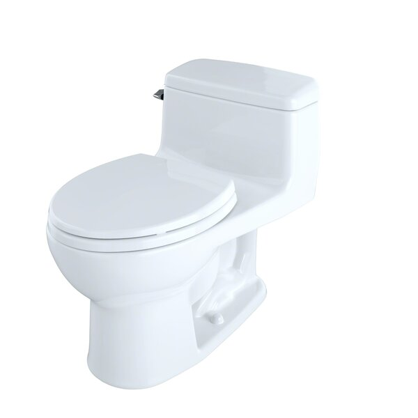 Supreme® Eco 1.28 GPF Round One-Piece Toilet by Toto