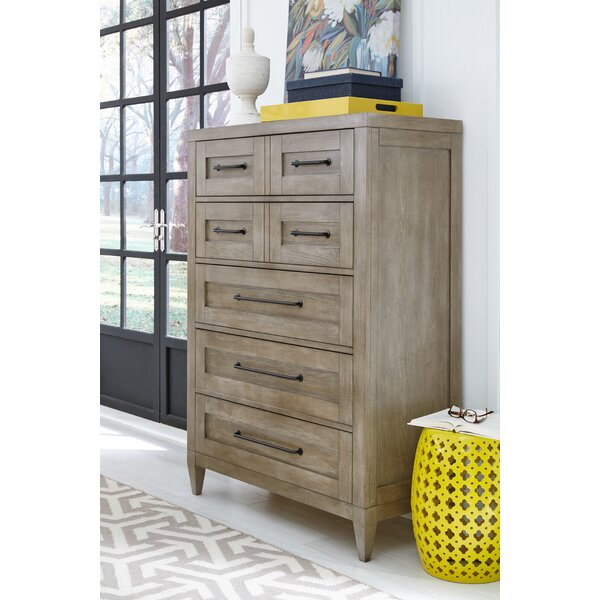 Midville 5 Drawer Standard Chest by Gracie Oaks