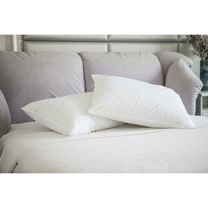 Natural Duck Feather Memory Foam Jumbo Pillow (Set of 2)