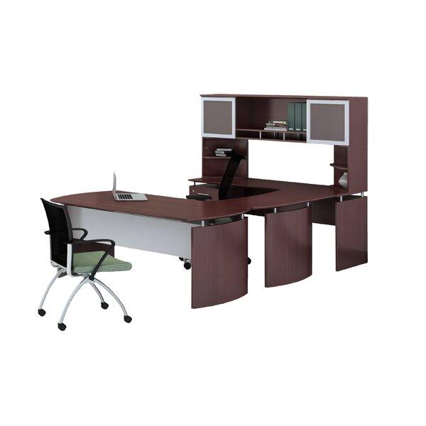 Medina Series 3-Piece U-Shape Desk Office Suite by Mayline Group