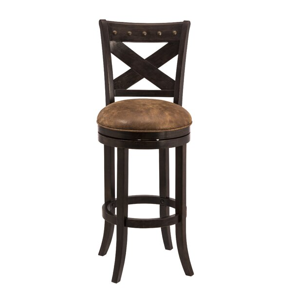 Besni 30 Swivel Bar Stool by Loon Peak