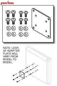 Non-VESA Adapter Plates by Peerless-AV