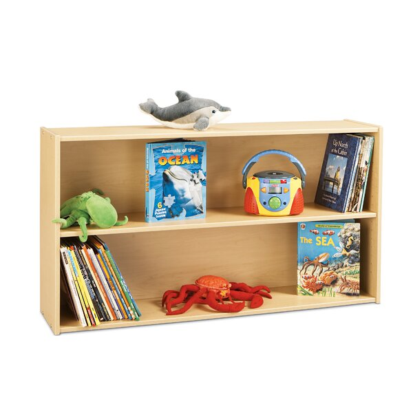Straight 2 Compartment Shelving Unit by Young Time