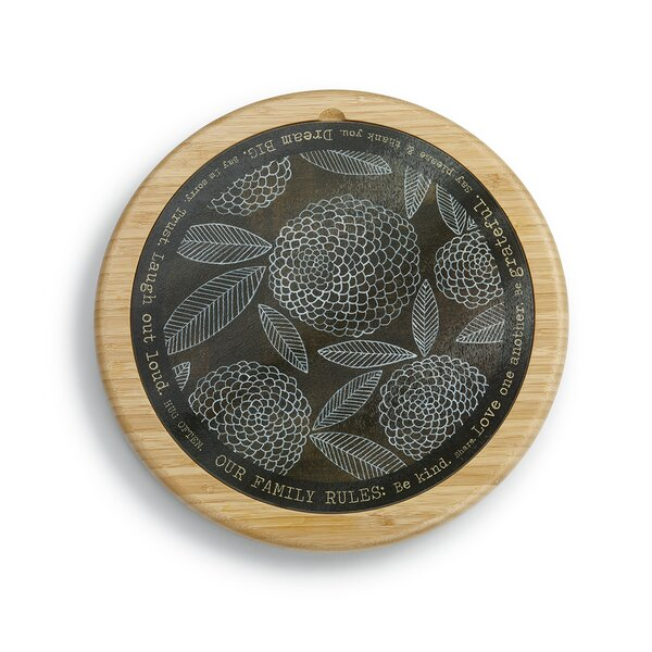 Markham Floral Lazy Susan by Red Barrel Studio