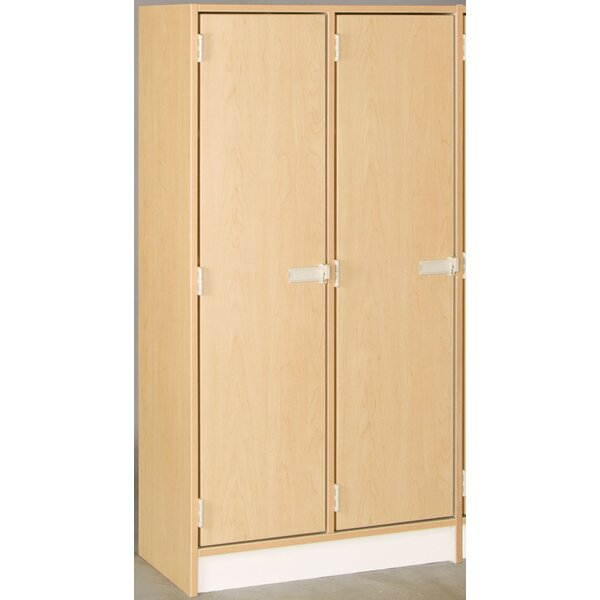 1 Tier 2 Wide Employee Locker by Stevens ID System