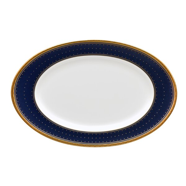 Blueshire Bone China Platter by Noritake