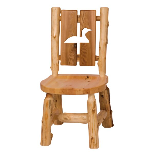Lytle Cut Out Solid Wood Dining Chair by Loon Peak Loon Peak