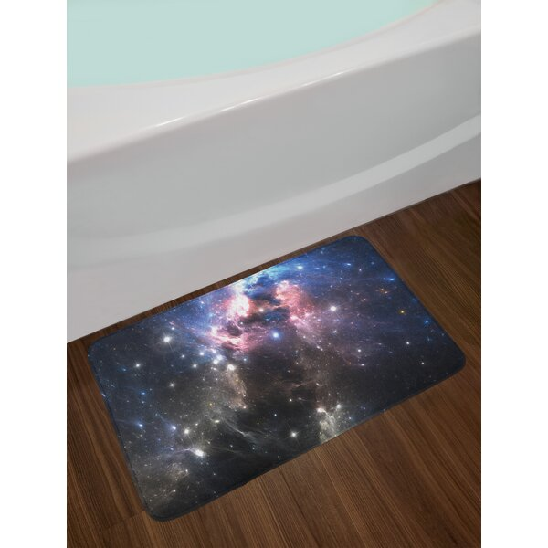 Constellation Giant Nebula Bath Rug by East Urban Home